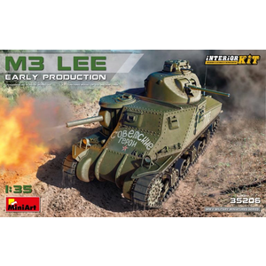 Miniart . MNA 1/35 M3 Lee Early Production Interior