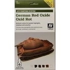 Vallejo Paints . VLJ GERMAN OXIDE RED AFV PAINT SET