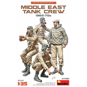 Miniart . MNA 1/35 Middle East Tank Crew 60's-70's