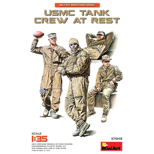 Miniart . MNA 1/35 USMC Tank Crew At Rest