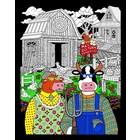 Stuff To Color . SFC 16X20 Velvet Poster Ma & Pa Egg Farm