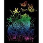 Royal (art supplies) . ROY Engrave Art Rainbow - Kitten & Butterflies