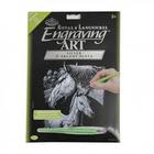 Royal (art supplies) . ROY Engrave Art Silver - Horses Nature Animals Calgary