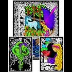 Stuff To Color . SFC Multi Pack Velvet Posters - Fairies & Unicorns