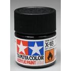 Tamiya America Inc. . TAM X-18 Sg Black Acrylic Mini