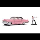 "Jada Toys . JAD 1/24 ""Hollywood Rides"" 1955 Cadillac Fleetwood w/ Elvis"