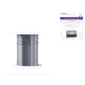 MultiCraft . MCI Beading Wire 28G Silver