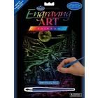 Royal (art supplies) . ROY Rainbow Scratch Art - Howling Wolves