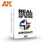 A K Interactive . AKI Real Colors of WWII Aircraft Book