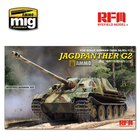 Rye Field Model . RFM 1/35 Jagdpanther G2 with full interior & workable track links