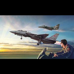 Italeri . ITA 1/72 Top Gun F-14A A-4F Combo Set