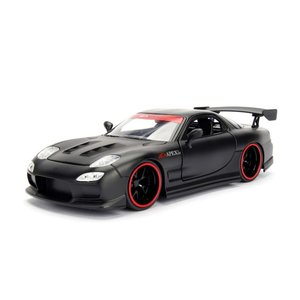 Jada Toys . JAD 1/24 1993 Mazda RX-7 - Black
