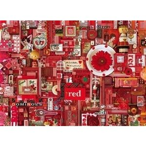 Cobble Hill . CBH Red 1000Pc Puzzle