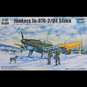Trumpeter . TRM 1/32 JUNKERS JU-87B/U4