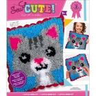 Colorbok . COK Sew Cute! Cat Latch Hook Art Animals Cushion Calgary