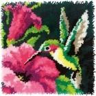Dimensions . DMS Hummingbird Latch Hook Nature Animals Art Calgary