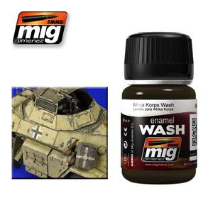 Ammo of MIG . MGA AFRIKA KORPS WASH