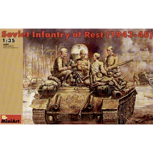 Miniart . MNA 1/35 Soviet Infantry At Rest