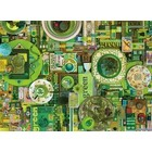Cobble Hill . CBH Green 1000Pc Puzzle