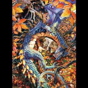 Cobble Hill . CBH Abby' s Dragon Puzzle 1000pc