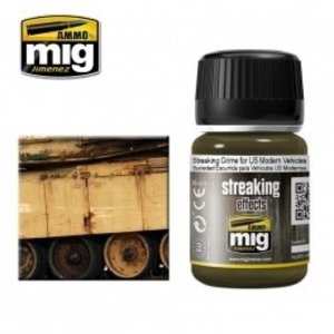 Ammo of MIG . MGA Streaking Grime For US Modern Vehicles
