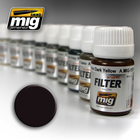 Ammo of MIG . MGA FILTER: BROWN FOR DARK GREEN