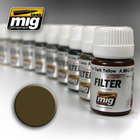 Ammo of MIG . MGA FILTER: BROWN FOR DESSERT YELLOW