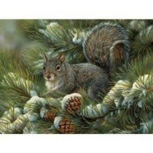 Cobble Hill . CBH Gray Squirrel 275Pc Puzzle