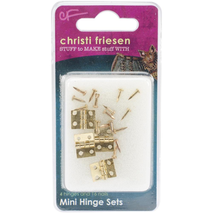 Christi  Friesen . CFM Mini Hinges 4 Pack