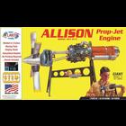Atlantis Models . AAN 1/10 Allison Prop Jet 501-D13 Engine