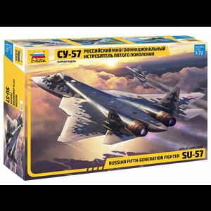 Zvezda Models . ZVE 1/72 Sukhoi Su-57