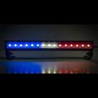 """Common Sense R/C . CSR LED Light Bar - 3.6"""" - Police Lights (Red, White, and Blue lights)"""