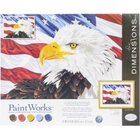 Dimensions . DMS Bald Eagle Paint By Number