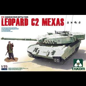 TAKOM . TAO 1/35 Leopard C2 Mexas Canadian Main Battle Tank