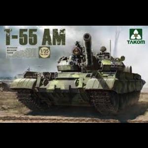 TAKOM . TAO 1/35 RUSSN MED TNK T-55 AM