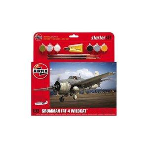 Airfix . ARX 1/72 GRUMMAN F4F-4 START SET