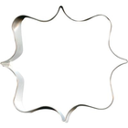 CK Products . CKP Cookie Cutter - Square Plaque 4.5""
