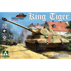 TAKOM . TAO 1/35 Sd.Kfz.182 King Tiger Porsche Turret