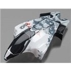 Heli Max . HMX White and Black Canopy  for the 1SQ V-Cam Quadcopter