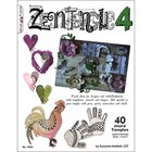 Design Originals . DOL Zentangle 4 Coloring Book