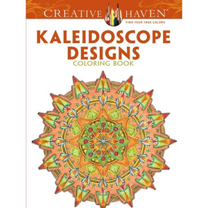 Dover Publishing . DOV Kaleidoscope Designs Coloring Book