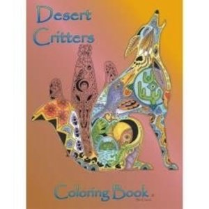 Earthart Coloring Books . EAC Desert Critters Coloring Book