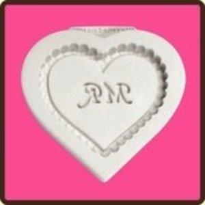 Katy Sue Designs USA . KSD Heart Plaque - Mr