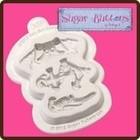 Katy Sue Designs USA . KSD Sugar Buttons - Pirate Mold