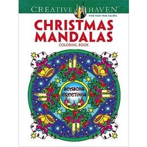 Dover Publishing . DOV Christmas Mandala Coloring Book