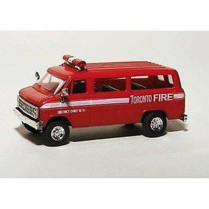 Trident (1/87 cars) . TRD HO TORONTO FIRE DEPT