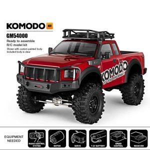 G Made . GMA KOMODO GSO1 4WD CRAWLER KIT
