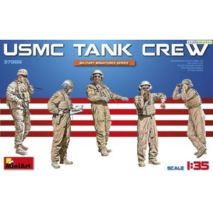 Military Miniatures 1/35 USMC Tank Crew