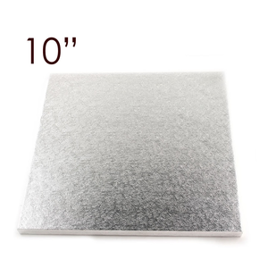 "Enterprise Paper . ENT 10"" Square Foil Drum (1/2"")"