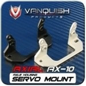 Vanquish . VAN AX10 SERVO MOUNT SILVER